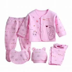 Neugeborenen Kleidung Set : 5pcs neugeborenen baby girl boy shirt pants hut gebot set outfits kleidung ebay ~ Markanthonyermac.com Haus und Dekorationen