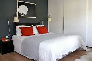 Chambre Adulte Gris Et Rouge. chambre deco gris rouge. chambre gris ...