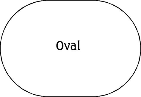 oval definition