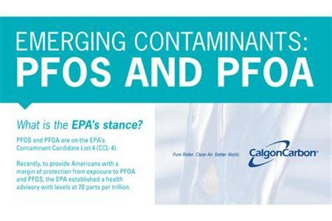 Emerging Contaminants PFOS AND PFOA