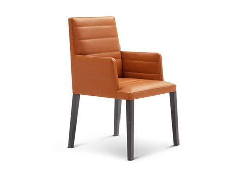 Louise Chair With Armrests By Poltrona Frau Design Lievore