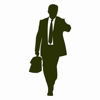 Businessman Silhouette Silueta Transparent Clip Clipart Hombre