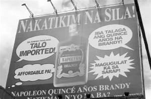 Ang Ipinalit Na Napoleon Quinc U00e9 Billboard Ng Destileria