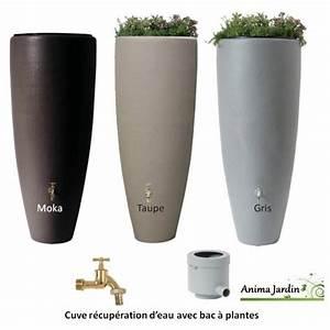 Bac De Récupération D Eau : r cup rateur d 39 eau de pluie 300 litres 2 en 1 avec bac fleurs graf ~ Melissatoandfro.com Idées de Décoration
