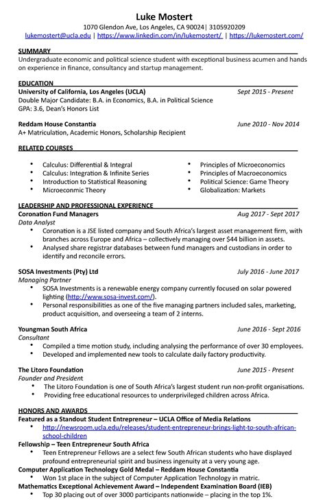 Experienced Resume Ontario by Canadian Resume Exles For Highschool Students High School Resume For College Exles Ontario