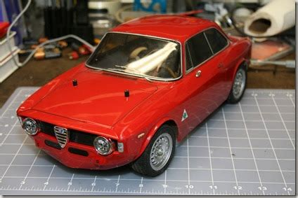 Torg's Tamiya Electric Rc Cars Alfa Romeo Giulia Sprint