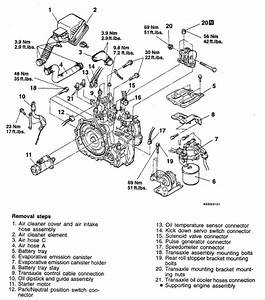 1998 Mitsubishi Eclipse Starter Diagram