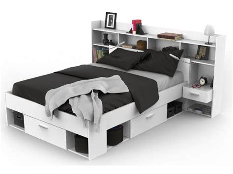 deco chambre gris blanc pack chambre kylian lit armoire dressing blanc
