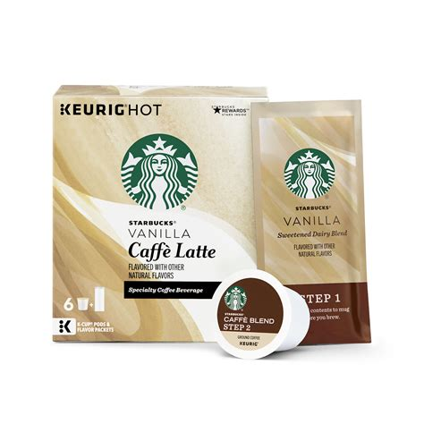 5.0 out of 5 stars7 product ratings. Starbucks - K Cups 6 ct - Caramel Caffe' Latte - ( Pack of 2 ): Amazon.com: Grocery & Gourmet Food