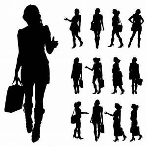 Fashion Silhouette Vector | www.imgkid.com - The Image Kid ...