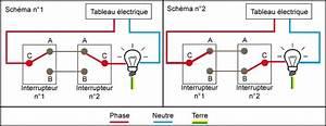 Un Va Et Vient : montage interrupteur 1 lampe allum e 1 teinte par le ~ Dailycaller-alerts.com Idées de Décoration