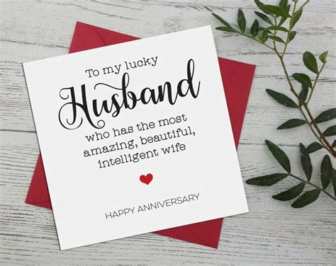 wedding anniversary funny banter  husband  wife greeting cards  ebay