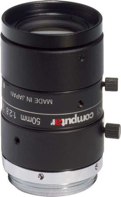 50 mm c mount computar 5 megapixel lens m5028 mpw2 vision dimension