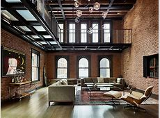 Modern Industrial 1890's New York apartment Turned into