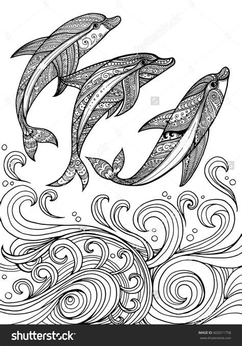 dolphin zentangle google search zentangle pins