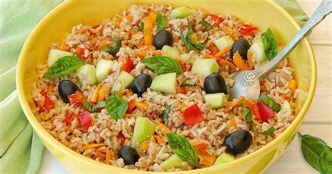 cuisiner le concombre salade composée au riz et aux 3 céréales anciennes bio