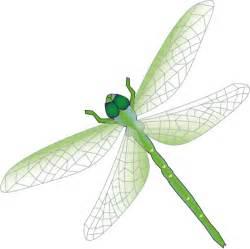 Green Dragonfly Clip Art