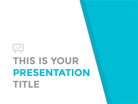 simple  professional powerpoint template  google