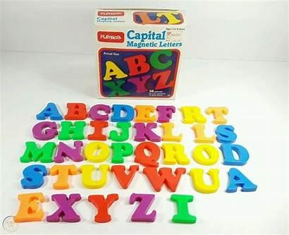Playskool Letters Magnetic Bradley 1984 Milton Capital