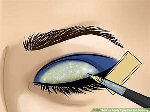 How to Apply Egyptian Eye Makeup (with Pictures) - wikiHow