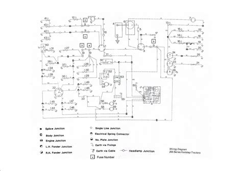 Mf 175 Wiring Diagram by Massey Ferguson 240 Wiring Harness Explore Schematic