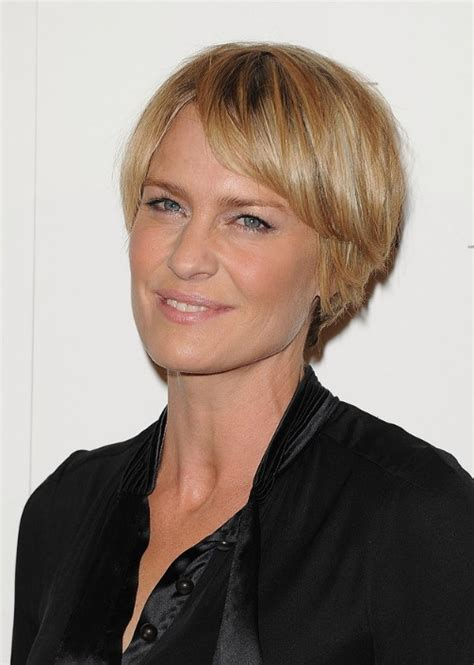 robin wright penn short hairstyle hairstyles weekly