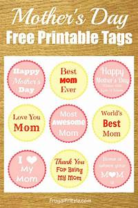 Mothers Day Free Printable Gift Tags (+ Mother's Day Quotes