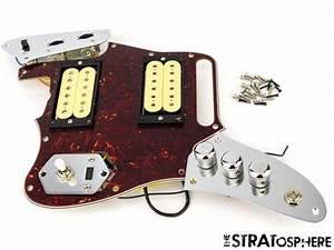 Lefty Fender Kurt Cobain Jaguar Loaded Pickguard Pickups
