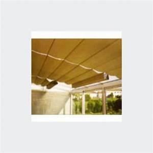 stores interieurs de veranda en toile metallisee une face With toile pour store interieur