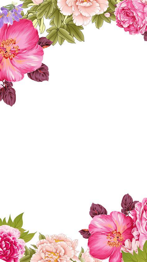 mo flowers flowers decorative borders  background