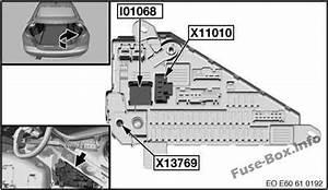 Fuse Box Diagram Bmw 5 E61  2003