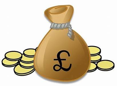 Money Pound Clipart Cash Pounds Sterling Currency