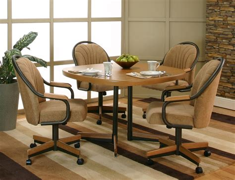 dinette sets dining room outstanding dinette sets with rolling chairs