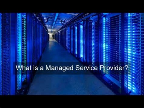 Managed Service Provider Youtube
