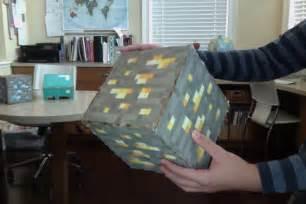 Real Life Size Minecraft Blocks