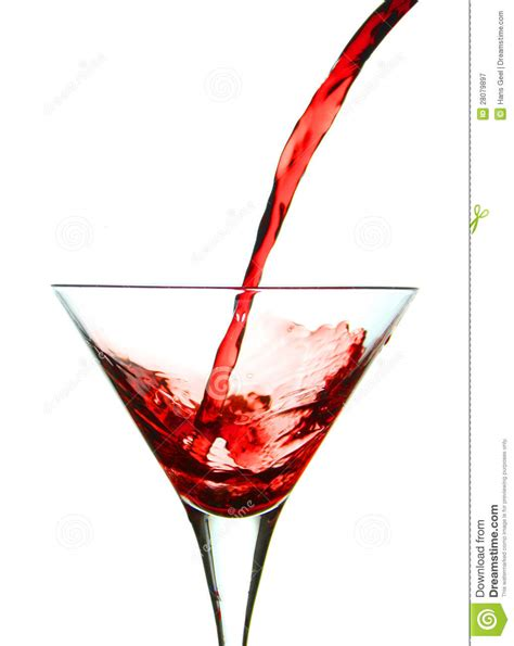 red martini pouring red martini stock image image of abstract