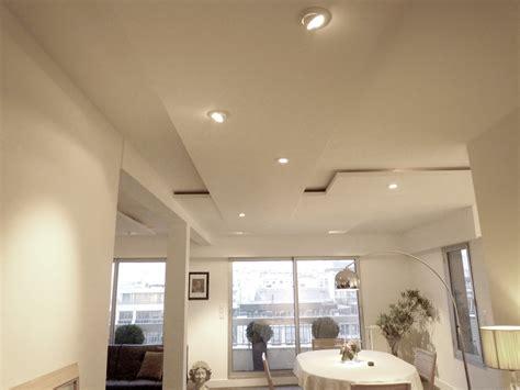 faux plafond cuisine design eclairage faux plafond cuisine faux plafond luminaire