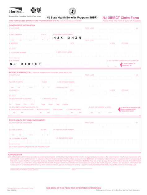 New jersey requires that all drivers have car insurance. Claim Form Nj - Fill Out and Sign Printable PDF Template | signNow