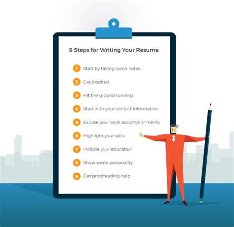 Steps On Writing A Resume by The 9 Steps To Writing A Resume Resume Tips