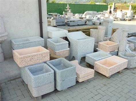 lavelli in cemento vasche e lavelli crear arredo esterni e giardino
