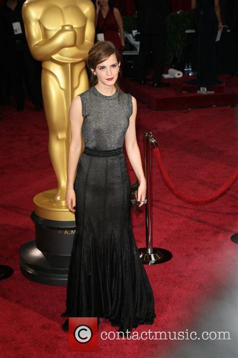 Emma Watson Annual Oscars Arrivals Pictures