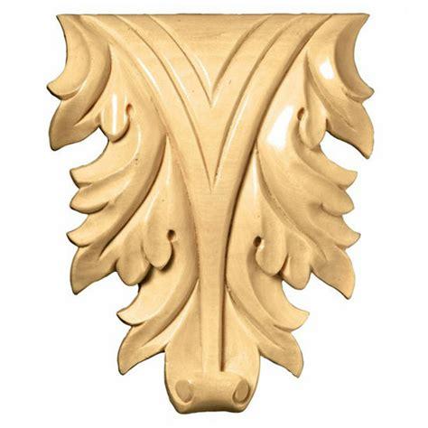 decorative hardware acanthus leaf onlays  white river