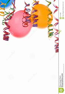 Balloons And Confetti Stock Photos - Image: 4111363