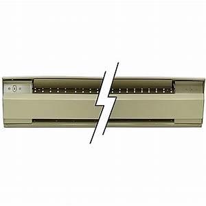 5 Foot 1250 Watt 240 Volt Ac Electric Baseboard Heater