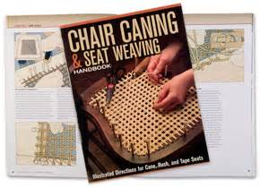 chair caning seat weaving handbook lee valley tools