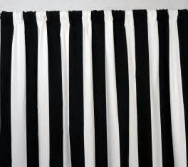 trends decoration black and white vertical striped drapes