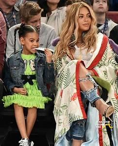 Beyonce BLue Ivy NBA Allstar 2017 1