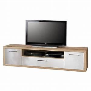 Lowboard Eiche Weiß : tv lowboard fresno iii sonoma eiche dekor hochglanz wei ~ Whattoseeinmadrid.com Haus und Dekorationen