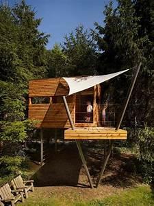 Baumhaus Für Kinder : haus auf stelzen baumhaus aus holz bauen f r kinder spielger t sonnensegel sonnenschutz ~ Orissabook.com Haus und Dekorationen