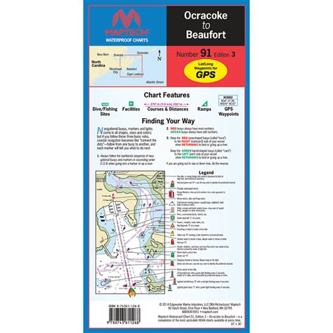 Used Boat Parts Beaufort Nc by Maptech Ocracoke To Beaufort Nc 3rd Edition West Marine